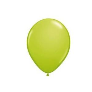 Ballonnen Onbedrukt Appel Groen 100 Stuks