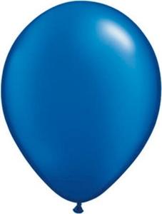 Ballonnen Onbedrukt Donker Blauw 100 Stuks