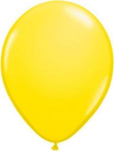Ballonnen Onbedrukt Geel 100 Stuks