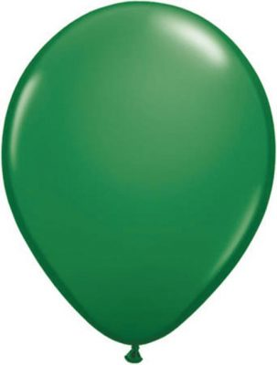 Ballonnen Onbedrukt Groen 100 Stuks Leaf Groen