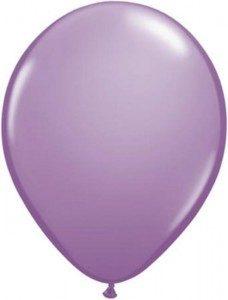 Ballonnen Onbedrukt Lavendel 100 Stuks