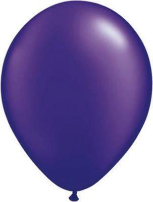 Ballonnen Onbedrukt Paars 100 Stuks Pastel