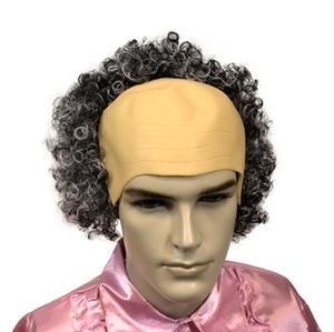 Kaalkop Grijs Haar