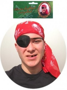 Piraten Bandana Rood