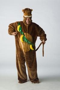 Pluche Apen Kostuum Bananen