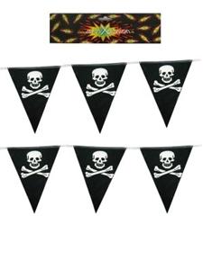 Vlaggenlijn Piraat Doodshoofd