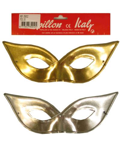 Oogmasker Vlindermodel Goud