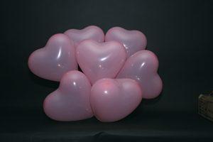 Hartjes Ballonnen Rose