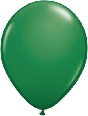 Ballonnen Onbedrukt Groen 10 Stuks