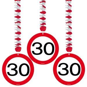 Guirlande 30 Jaar Stopbord