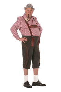 Tiroler Broek Grote Maten Lang Hanselien