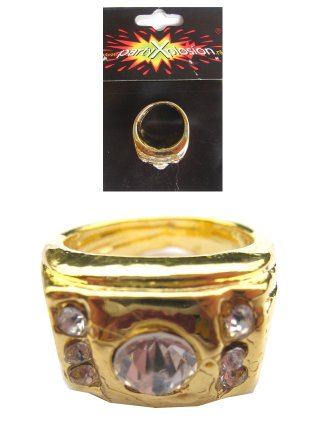 Pooier Ring Goud + Stenen
