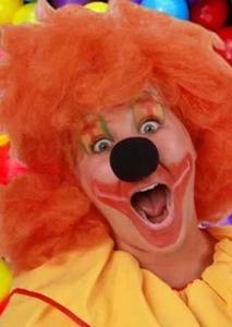 Clown Schuimneus Zwart