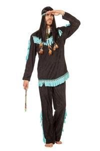 Indianen Kostuum Heren Wishbone