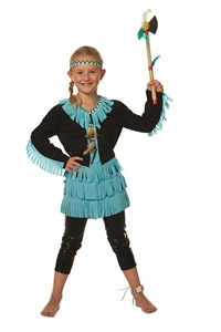 Indianen Pak Wishbone Meisje