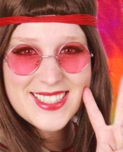 Hippie Uilebril Rose Glas