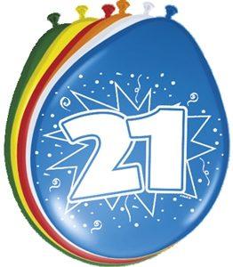 Ballonnen 21 Jaar Leeftijd