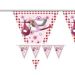 Geboorte Meisje Vlaggenlijn Baby