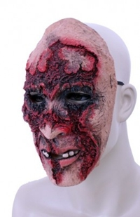 Horror Masker Latex Half Rottend
