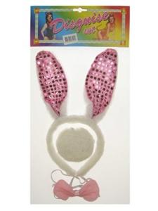 Bunny Set Pailletten