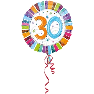 Folie Ballon 30 Jaar Radiant