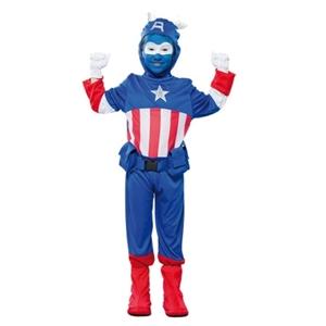 Captain Blauw Kostuum Kind
