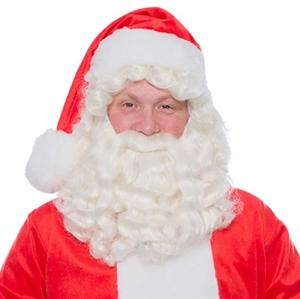 Baardstel kanekalon Kerstman