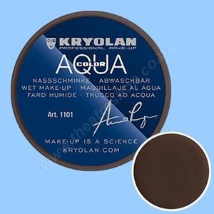 Kryolan Aqua Color 55ml 101 DonkerBruin