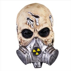 Gasmasker skeleton deluxe