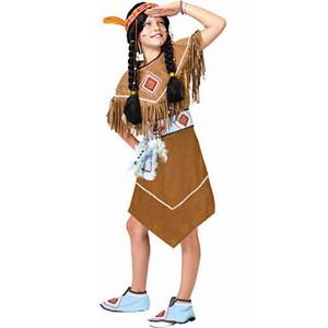 Indianen Meisje Pow Wow