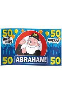 GevelVlag Abraham 50 Jaar