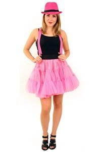 Petticoat 3 Laags Pink Volwassenen