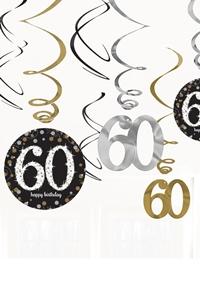 Draai Hangers 60 Jaar Leeftijd