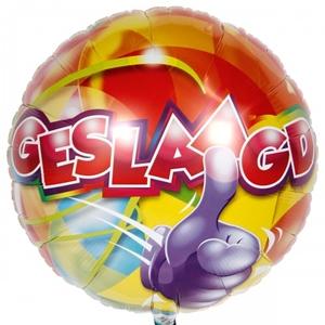 Geslaagd Folie Ballon