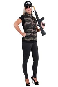 Camouflage Leger Vest Dames