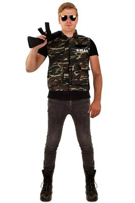 Camouflage Leger Vest Heren