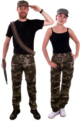 Camouflage Leger Broek