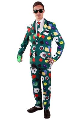 Poker Kostuum Heren