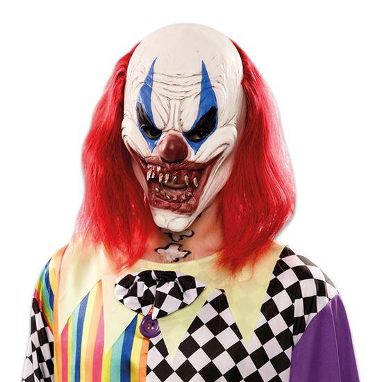 Masker Duivel Clown Lang Haar Halloween