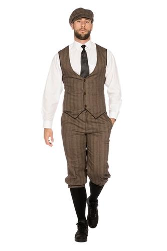 Roaring 20's Peaky Blinders Kostuum Bruin Heren