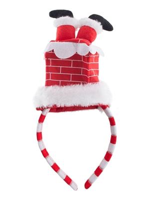 Diadeem Kerstman In de Schoorsteen