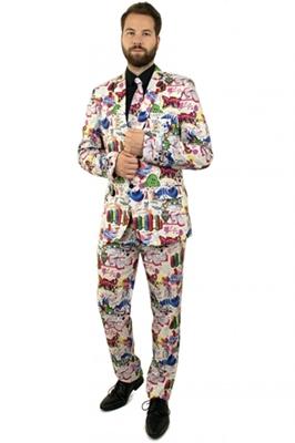Graffiti Kostuum Heren