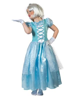 Ijsprinses Jurkje Meisjes Blauw