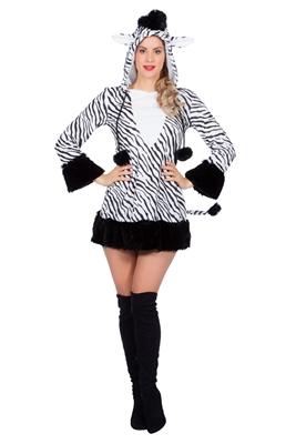 Dames Zebra Jurkje