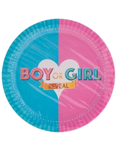 Gender Reveal Baby Borden 8 Stuks
